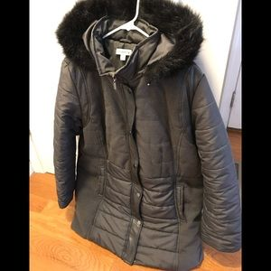 Susan Graver Quilted Puffer Jacket with Hood